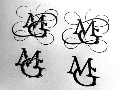 mg monogram final typography logo inspiration branding design logo monogram