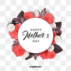 mother  day decoration greeting colorful elements