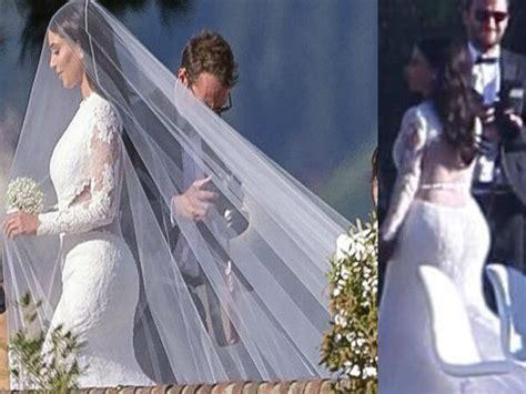 Kim Kardashian Wedding Kanye West