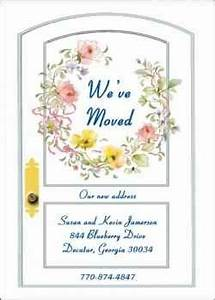 51 best moving announcements housewarming invitations With inexpensive moving announcements