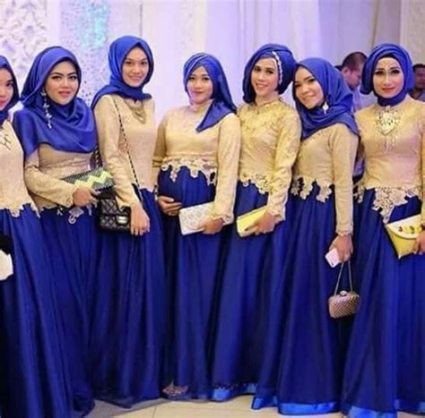 pin  rahma yeni  baju pesta wanita bridesmaid outfit