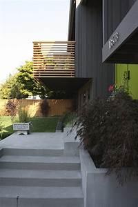 Geländer Holz Terrasse : balkongel nder aus holz halbtransparente l rche lamellen flur balkon balkongel nder und ~ Watch28wear.com Haus und Dekorationen