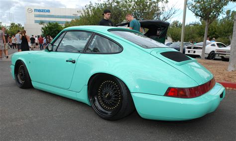 porsche mint green singer porsche 911 digitaldtour