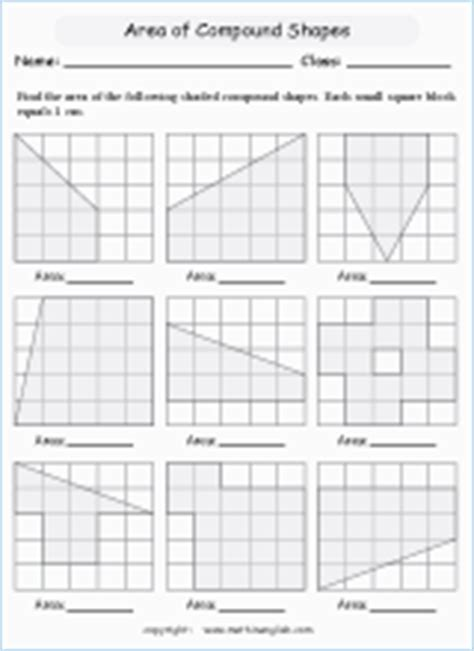 compound perimeter printable grade  math worksheet