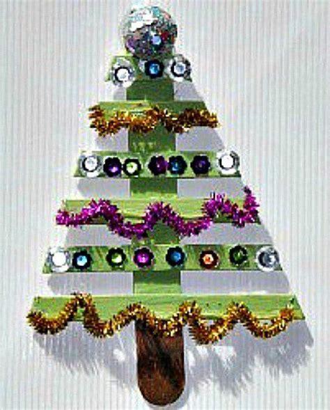 amazing craft ideas  seniors stick christmas tree