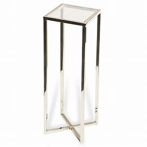 Martini Square Drink Table Luxe Home Company