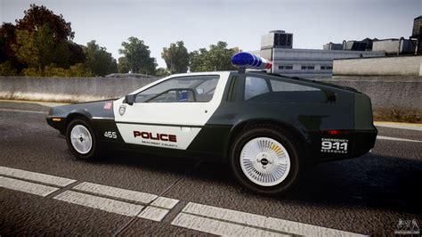 DeLorean DMC-12 [Final] Police for GTA 4