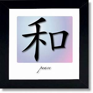chinese symbols for words framed wall art With chinese letter wall art