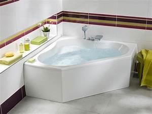 Baignoire Angle Douche : 1000 ideias sobre baignoire d angle no pinterest banheira de canto baignoire d angle douche ~ Voncanada.com Idées de Décoration