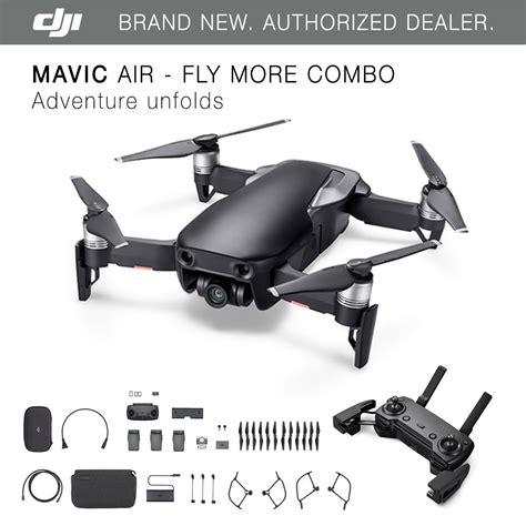 dji mavic air onyx black drone fly  combo
