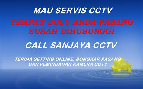 cctv siap pasang jasa pasang cctv dan setting cctv semarang