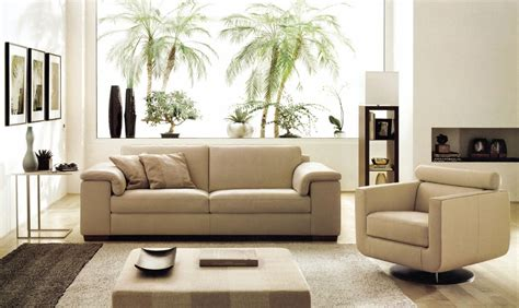 canape cuir beige deco in canape cuir beige 3 places romantica can