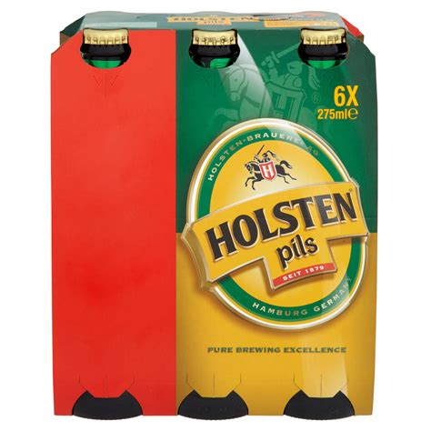 Holsten Pils Lager 6 x 275ml | Iceland Foods