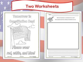 Constitution Day Powerpoint Lesson W Worksheets K3 By Laura's Lessons