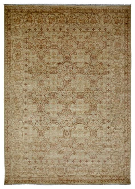 6x9 Wool Rug by Oushak Wool Area Rug Ivory 6x9 Traditional Area Rugs