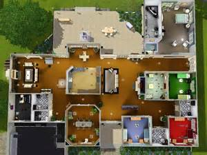 small ranch floor plans mod the sims stately ranch