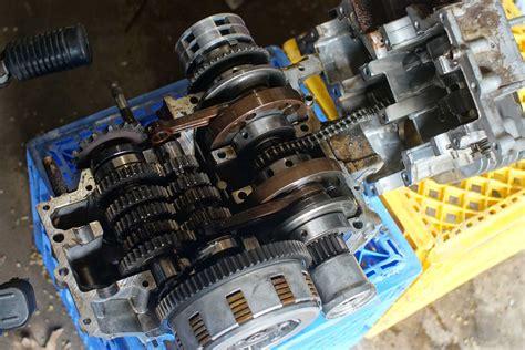 vintage scrambler build part  dannix