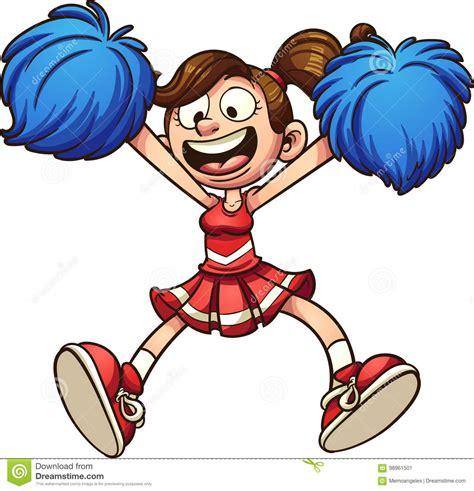 cheerleading clipart stock illustrations 764