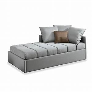Lit gigogne atena meubles et atmosphere for Canapé convertible couchage quotidien avec tapis d entrée original
