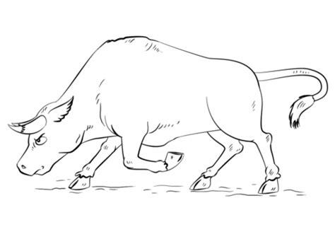Coloring Pages Of Bulls - Democraciaejustica
