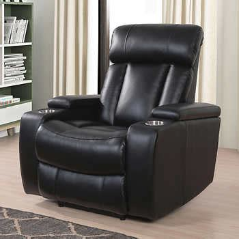 Power Recliner Deals by Costco Evan Top Grain Leather Power Recliner With Power