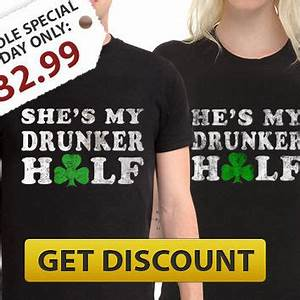 St Patricks Day T-Shirt Bundle Couples st from House Of Rodan