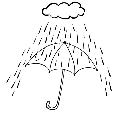 rainy day coloring pages coloringsuite