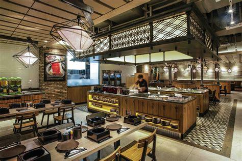shaburi restaurant  metaphor interior  grand