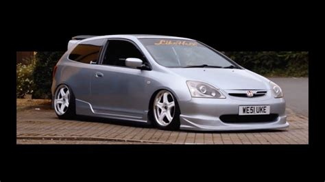 Modified Civic Type R Ep3 honda civic ep3 type r modified rollin low