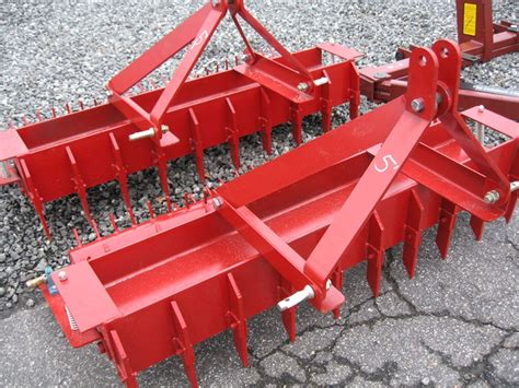 tractor pulverizer yard tool  southern single roller big tooth
