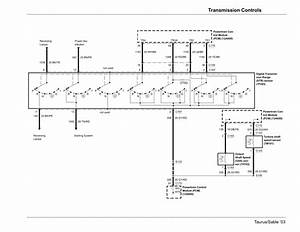 Solved  2003 Ford Taurus Transmission Diagram