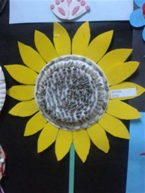 sunflower craft idea  kids crafts  worksheets