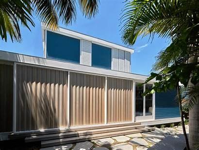 Beach Stilts Ocean Architects Views Retreat Shutters