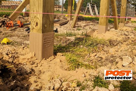 Post Protector for 4″ x 4″ is a Smart Alternative to 'Pier ...