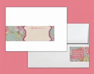envelope wrap labels printable address wraps pdf vintage rose With envelope address stickers