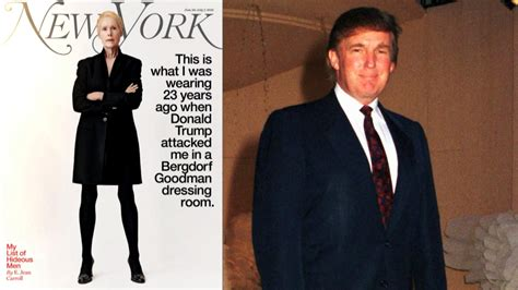 trump donald assault raped years dressing room ago claims sexual woman ny