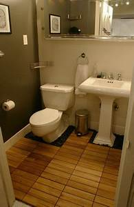35 best images about deck tiles cork rubber floorings on With teak tiles bathroom
