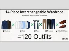 Power Of The Interchangeable Wardrobe 120 Outfits From