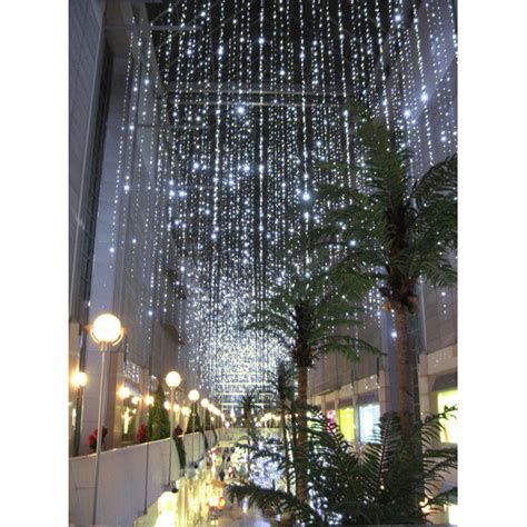 100 led wide angle lights icicle light curtains
