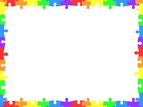 autism clip art border clip art library