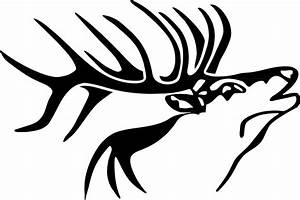 Pin Elk Head Silhouette Images Cake Ideas And Cake on ...