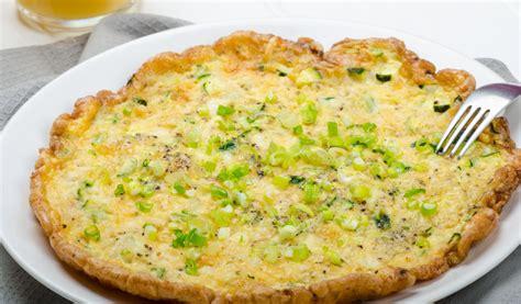 Receptes.lv - Svētdienas omlete ar cukini