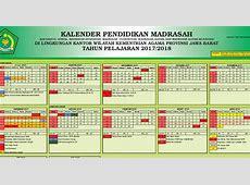 Kalender Pendidikan Tahun 20172018 MTs Arrosyid II