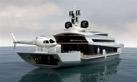 Yacht With Helipad by Paradigm 180 Motor Yacht Design Helipad Yacht Charter