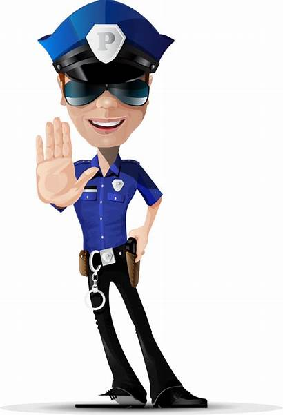 Police Officer Clipart Policeman American African Transparent