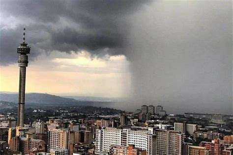 Heavy storm causes severe flash flooding in Johannesburg