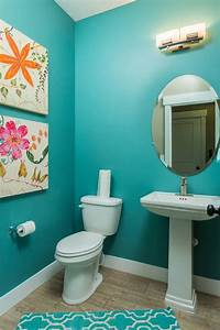 18 turquoise bathroom designs decorating ideas design for Turquoise and pink bathroom