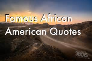 Famous African American History Quotes