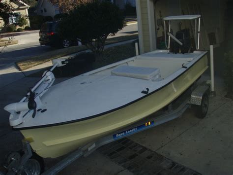 Tiller Flats Boats For Sale by Original Challenger Flats Skiff Sold The Hull