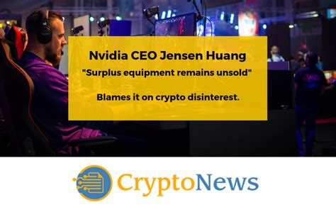 Nvidia: Cryptocurrency Mining no Factor for Company Moving ...